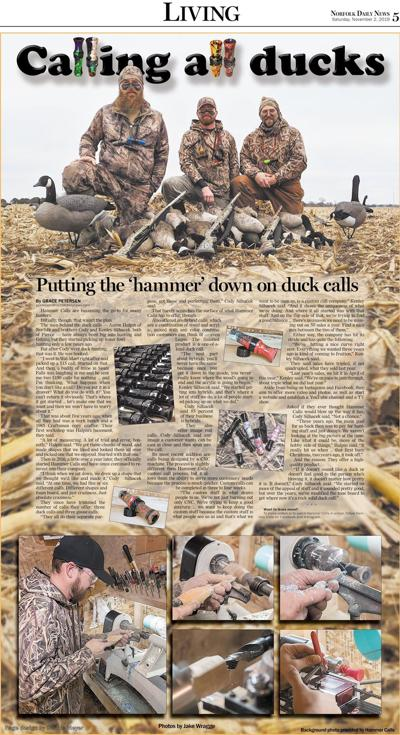 'Hammer' down on duck calls