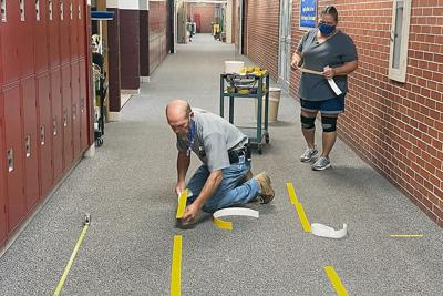 NPS staff ready for students to return after summer facility preparations