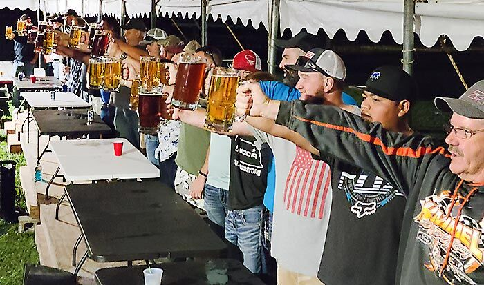 Stein holding competition