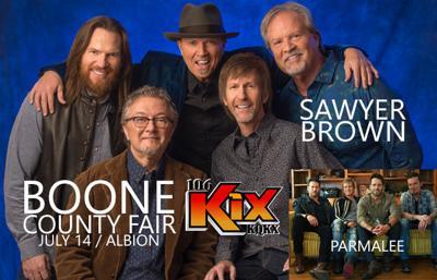 106 KIX Concert Update: Boone County Fair!