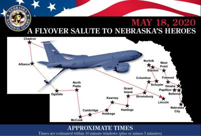 Statewide flyover set for Monday