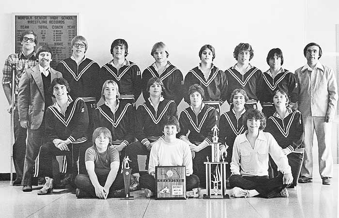 1978-79 Norfolk wrestling team