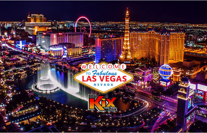 106 KIX is sending you to Las Vegas!