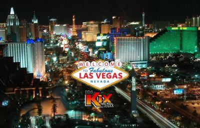 106 KIX is sending you to Las Vegas!