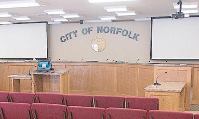 City council chambers NDN