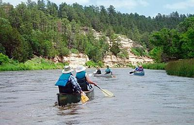 Niobrara River canoeing