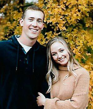 Rachel Speckmann and Isaac Kreikemeier.
