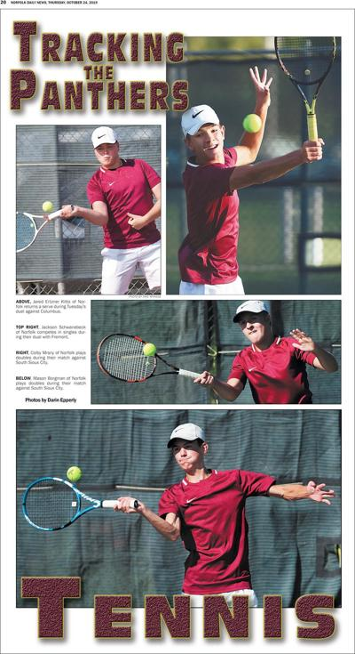 Tracking the Panthers - Boys Tennis