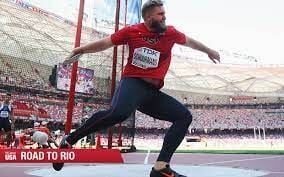 Former Norfolk High track & field standout Jared Schuurmans to compete in the Discus event of the U.S. Olympic Team Trials in Eugene, Oregon this evening