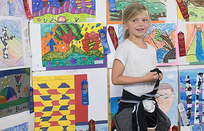 County fair art show