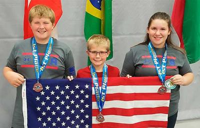 Youth archers take gold