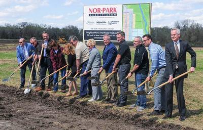 Nor-Park groundbreaking