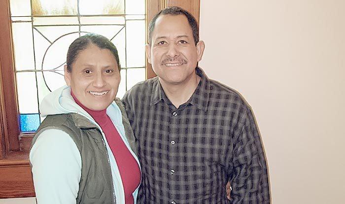 The Rev. Alfonso Diaz and Minerva Lira-Diaz
