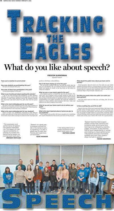 Tracking the Eagles - Speech