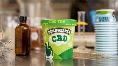 CBD Ice Cream