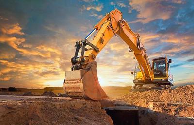 Excavator file photo