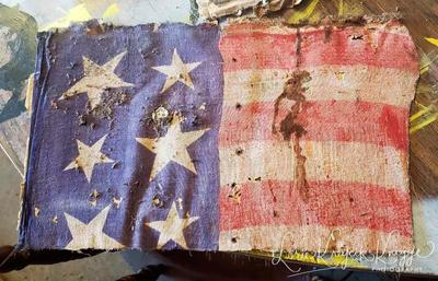 Old Verdel flags