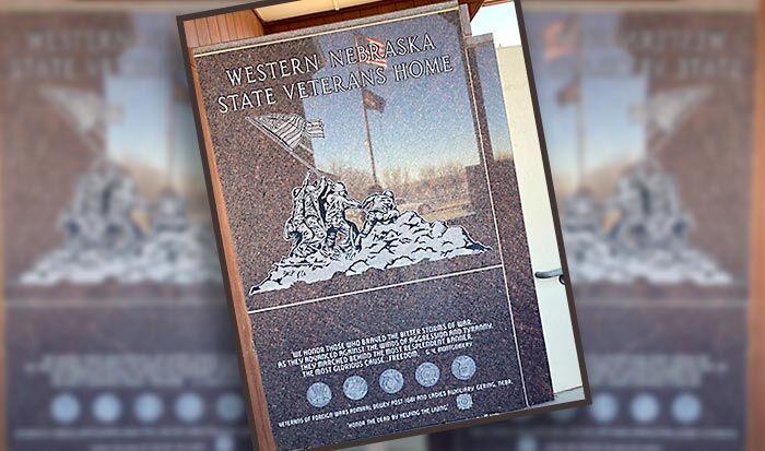 Scottsbluff Western Nebraska Veterans Home Memorial