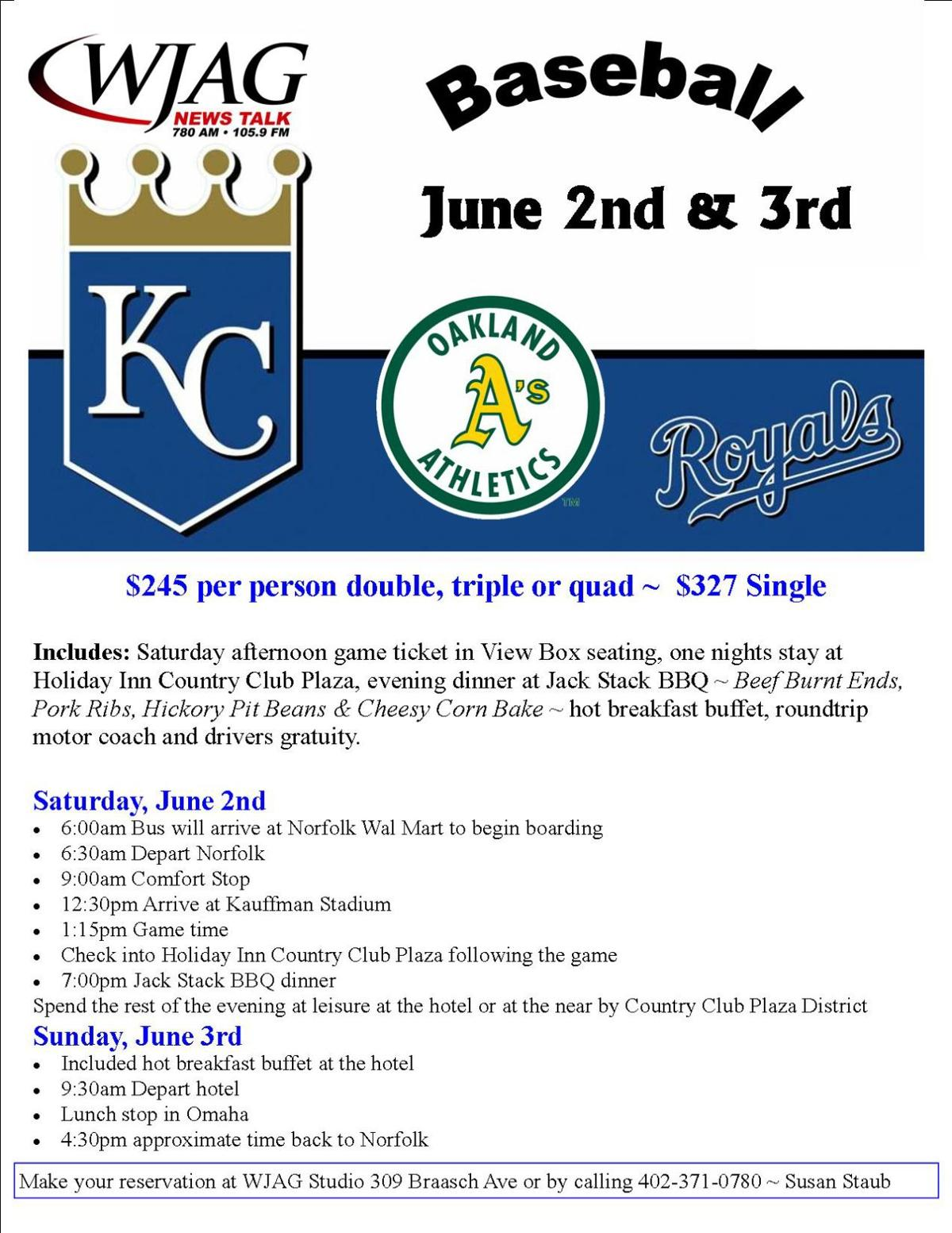 Travel Club: Kansas City Royals