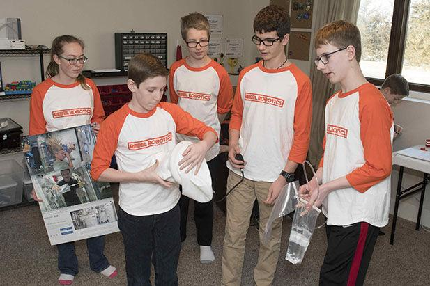 Robotics team qualifies for world competition with first-place state victories
