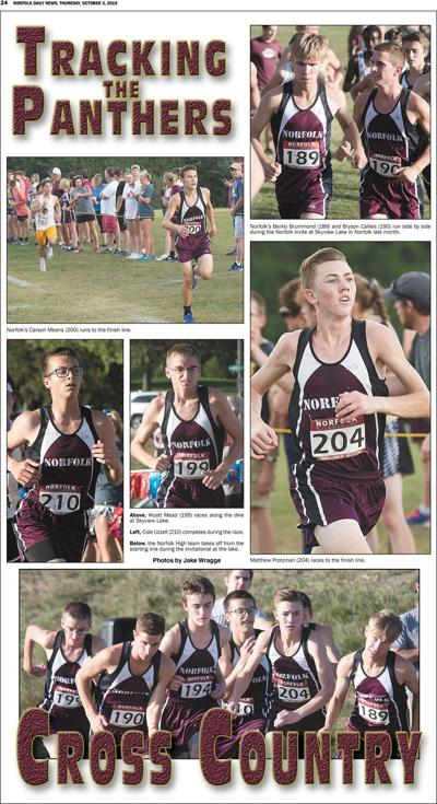 Tracking the Panther Boys Cross Country
