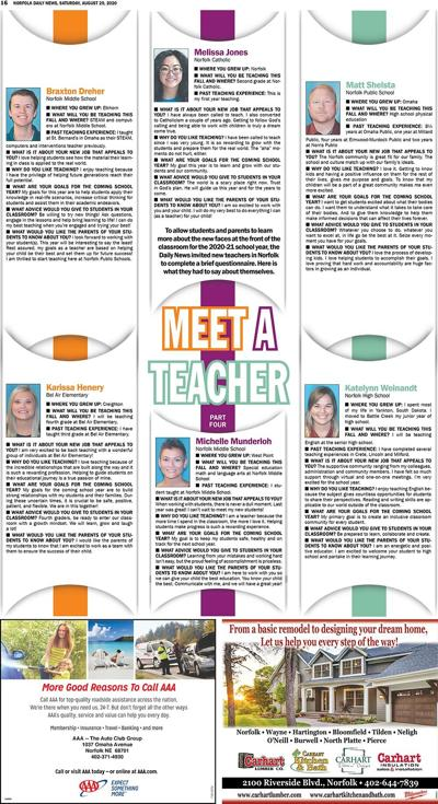 New teachers - 2020