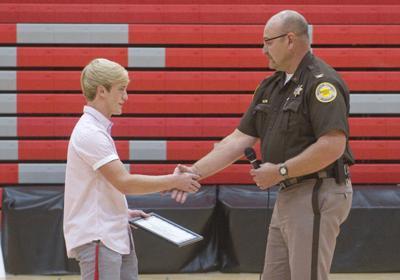 Wyatt Smydra honored