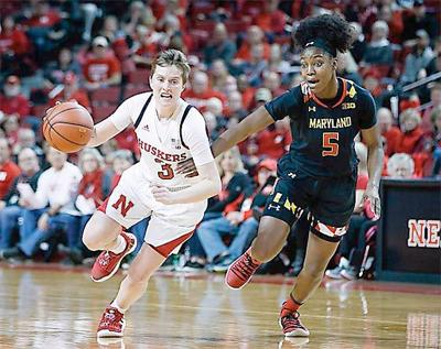 Huskers Hannah Whitish