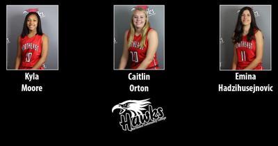 Hawks Womens Basketball Players