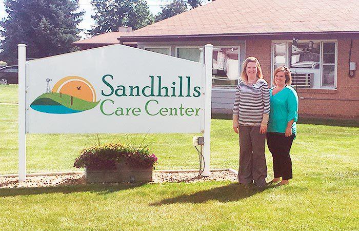 Nursing home reopens