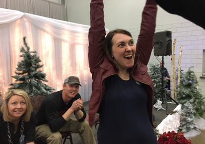Laura Peitz from Stanton wins The Great Diamond & Ice Meltdown!