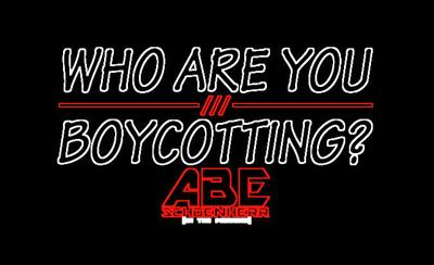 Who are you boycotting & why?