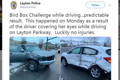NYMHM: Bird Box Driving Challenge, High Speed Underwear Chase