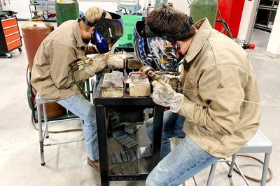 Program building a skilled workforce through CTE classes at Northeast