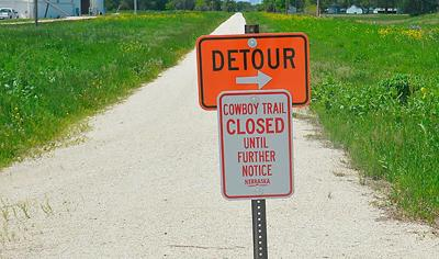 Cowboy Trail closure