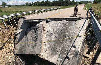 Stanton bridge reopened