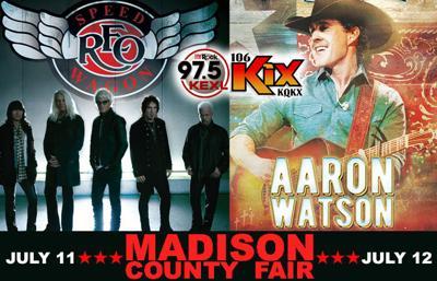 106 KIX Concert Update: Madison County Fair