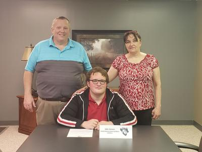 Pictured from left to right:  Jeff Jensen, Jake Jensen and Lisa Jensen.