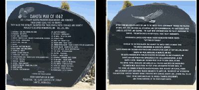 Dakota Santee Sioux Tribe to dedicate and bless new monument
