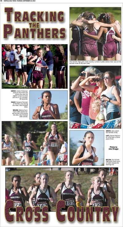 Tracking the Panther Girls Cross Country