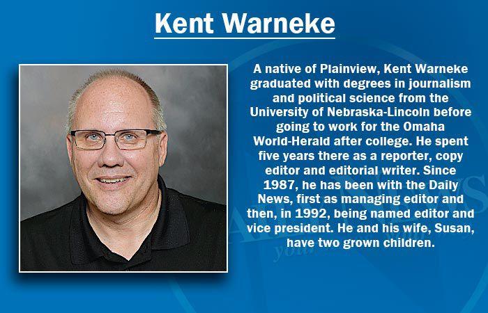 Kent Warneke - Editor