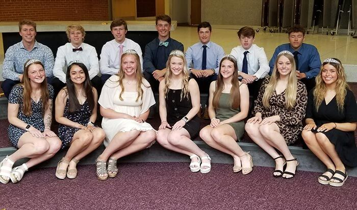 2021 NHS prom candidates