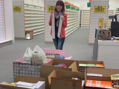 Shoes donation