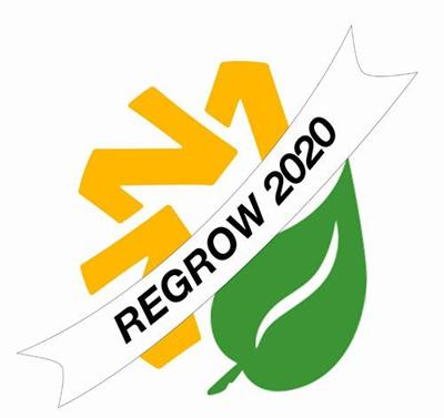 Regrow 2020 logo NDN