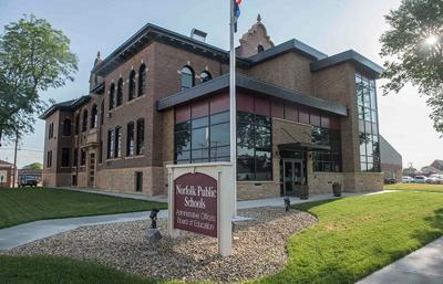 Norfolk Public Schools administration building NDN