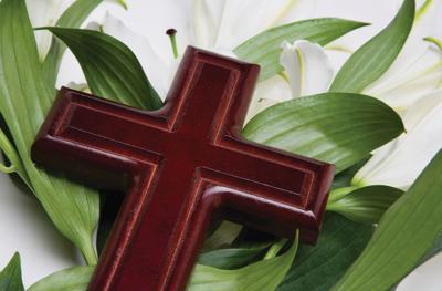 Easter cross NDN