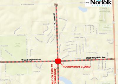 Roundabout Closure