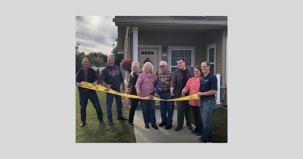 Wolf Run Village independent living ribbon cutting _ 2019