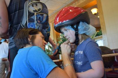 Evangelical bike helmet giveaway 2019