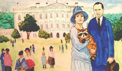 rebecca the white house raccoon cover